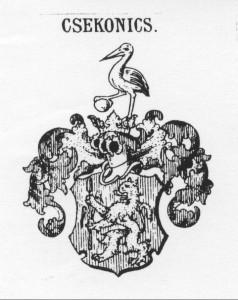Adeliges Wappen: Paul Csekonics