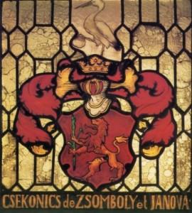 Wappen Graf Csekonics