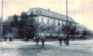 Das alte Kastell um 1910