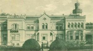 Südfront des Csitό- Schlosses